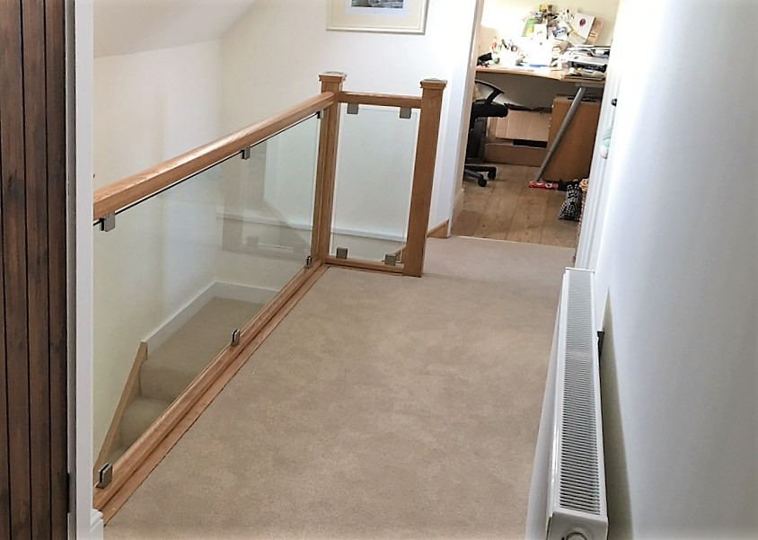 glass balustrade with 10mm glass